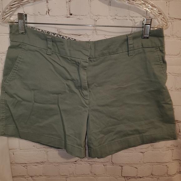 Cambridge Dry Goods Shorts Green sz 6
